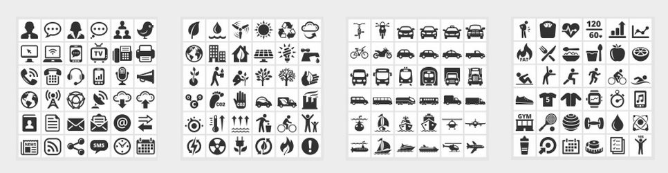 vector icons and illustrations by Alex Belomlinsky
