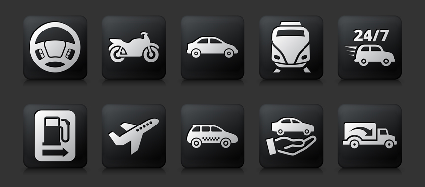 cars icons by bubaone